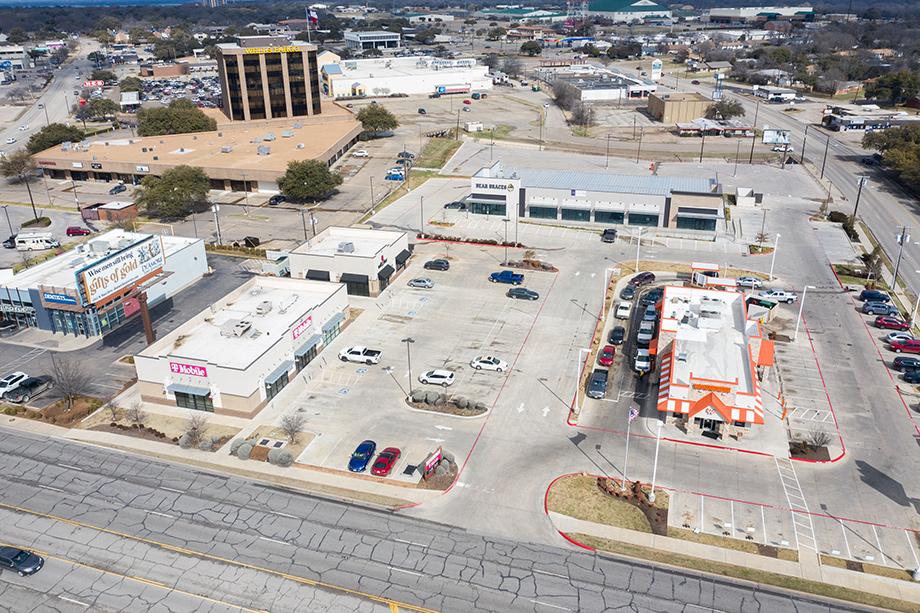 T-Mobile, Nail Bar Aerial Street View