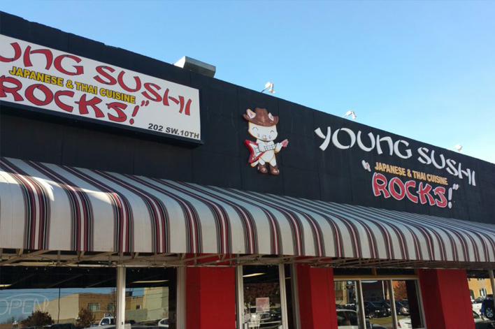 Young Sushi Amarillo TX - Mays Inc.